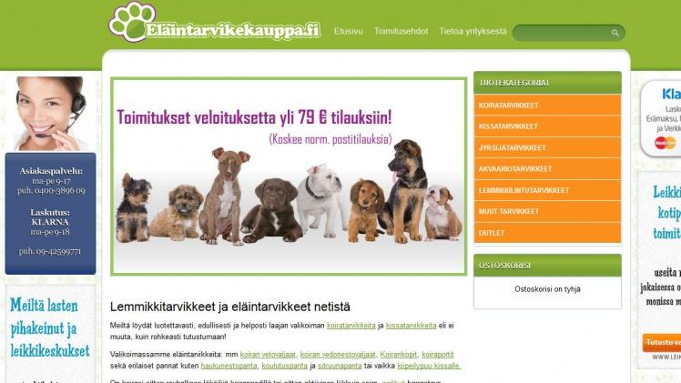 Eläintarvikekauppa