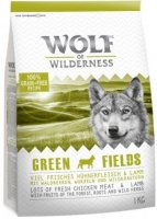 Wolf of Wilderness Green Fields - lammas